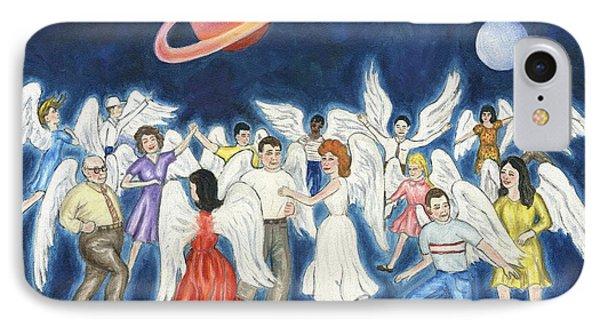 Angels Dancing Phone Case by Linda Mears