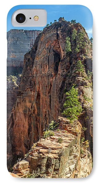 Angels Landing In Zion Phone Case by Pierre Leclerc Photography