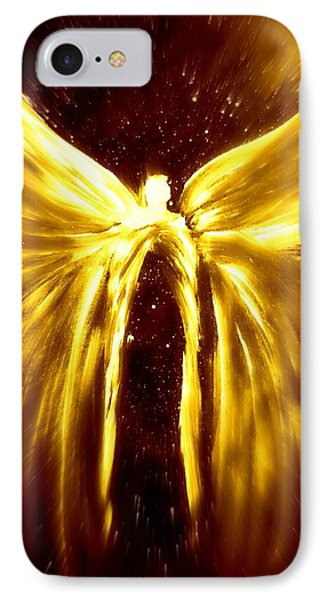 Angels Of The Golden Light Anscension IPhone Case