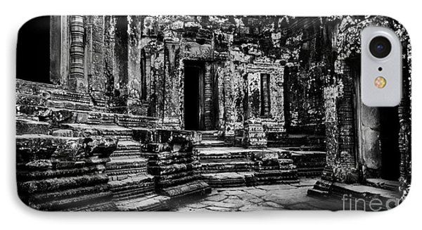 Angkor Thom At Dawn IPhone Case by Julian Cook