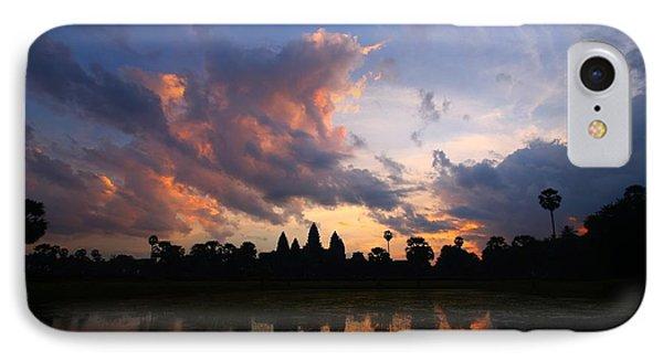Angkor Wat Sunrise IPhone Case by FireFlux Studios