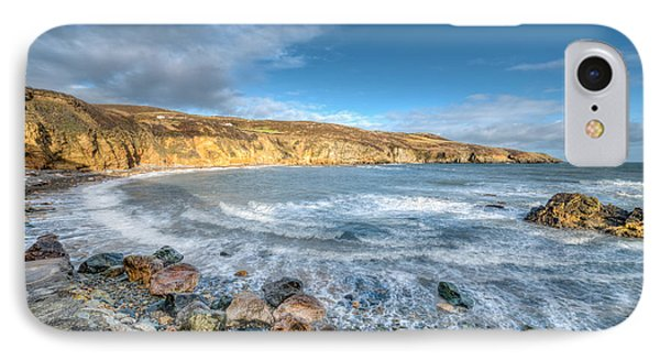 Anglesey Seascape IPhone Case by Adrian Evans