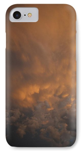 IPhone Case featuring the photograph Angry Clouds  by Lyle Crump