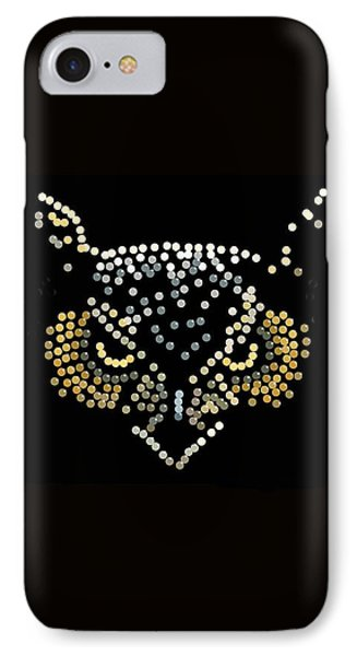 Angry Owl Bedazzled Mobile IPhone Case by R  Allen Swezey