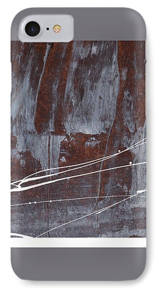 Angst I IPhone Case by Paul Davenport