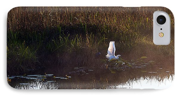 Anhinga Trail Sunrise Phone Case by Bruce Bain