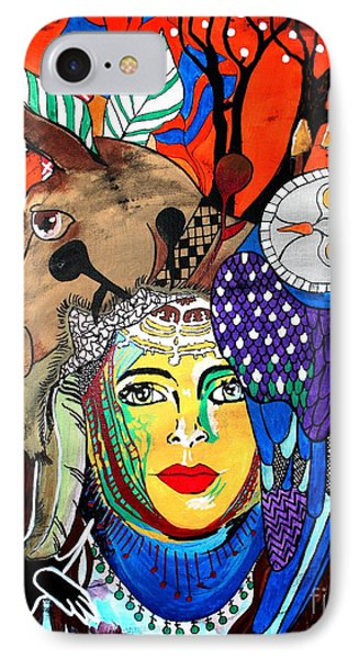 Animal Basket Phone Case by Amy Sorrell