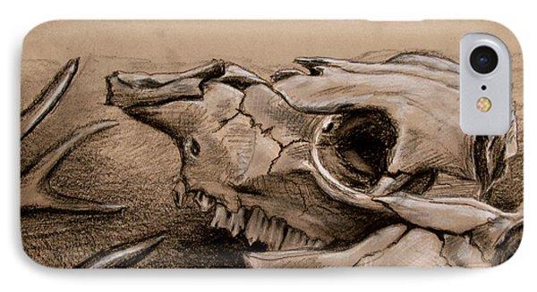 Animal Bones IPhone Case by Samantha Geernaert