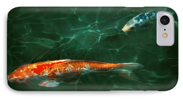 Animal - Fish - Koi - Another Fish Story Phone Case by Mike Savad
