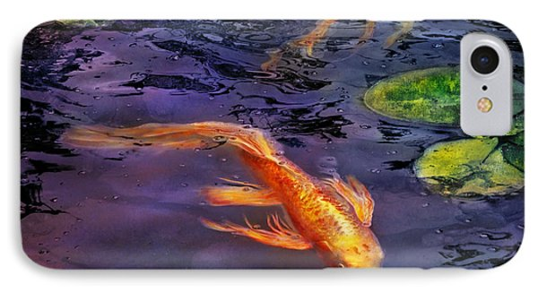 Animal - Fish - There's Something About Koi  Phone Case by Mike Savad