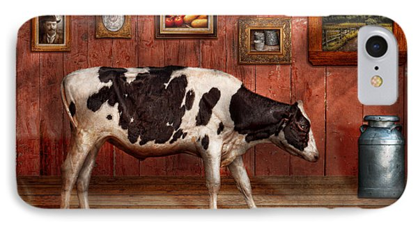 Animal - The Cow Phone Case by Mike Savad