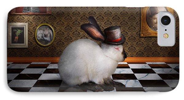 Animal - The Rabbit Phone Case by Mike Savad