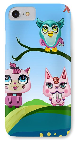 Animals IPhone Case by Bogdan Floridana Oana