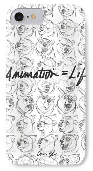 Animation  Life IPhone Case by Aaron Blaise