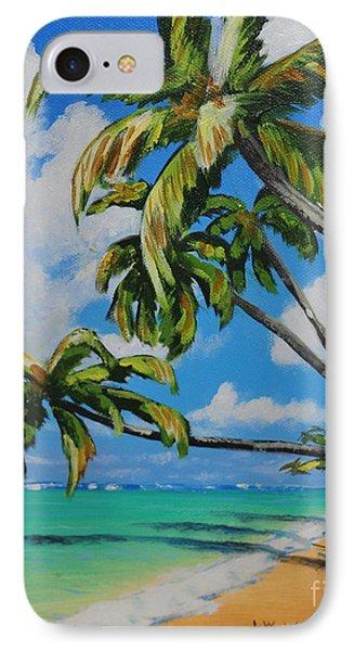 Anini Beach Kauai IPhone Case