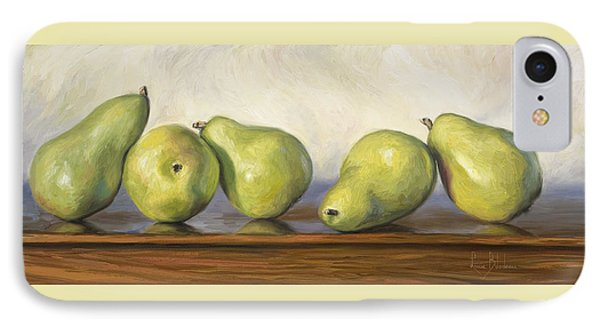 Anjou Pears Phone Case by Lucie Bilodeau