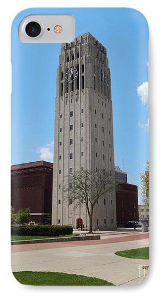 Ann Arbor Michigan Clock Tower IPhone Case
