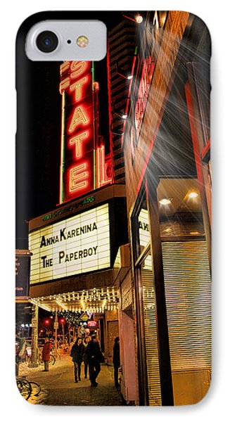 State Theater Marquee IPhone Case by Pat Cook