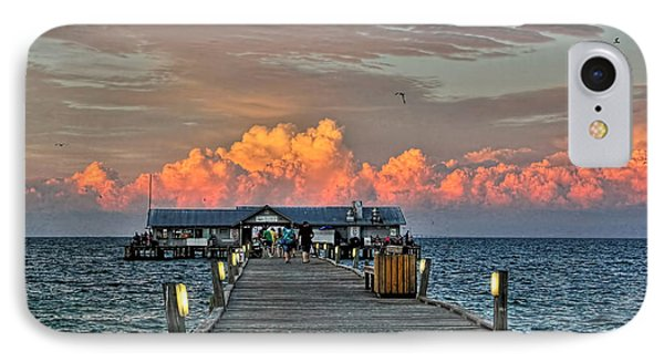 Anna Maria City Pier IPhone Case by HH Photography of Florida