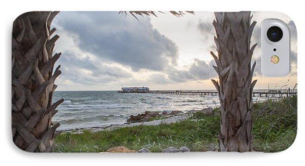Anna Maria City Pier IPhone Case