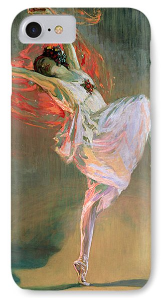 Anna Pavlova, 1910 IPhone Case