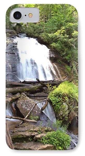 Anna Ruby Falls - Georgia - 4 IPhone Case