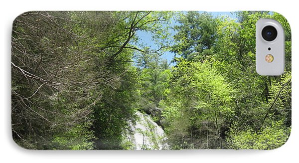 IPhone Case featuring the photograph Anna Ruby Falls Helen Ga 01 by Brian Johnson