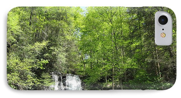IPhone Case featuring the photograph Anna Ruby Falls Helen Ga 02 by Brian Johnson