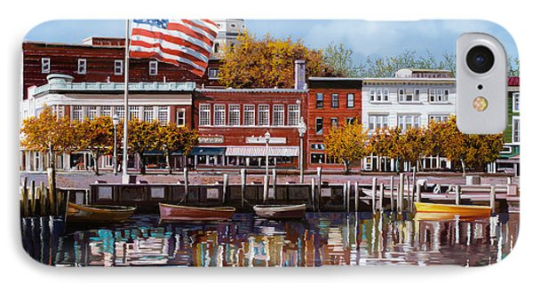 Annapolis IPhone Case by Guido Borelli