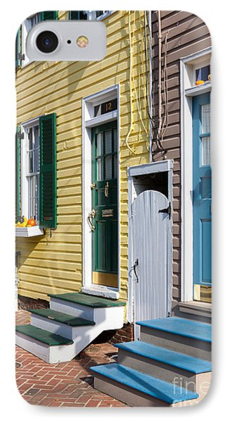 Annapolis Historic Homes I IPhone Case