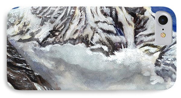 Annapurna L Mountain In Nepal IPhone Case by Carol Wisniewski
