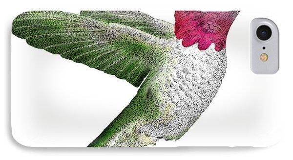 Annas Hummingbird Phone Case by Roger Hall