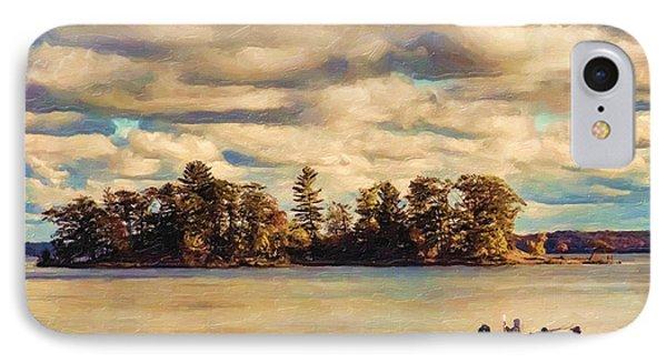 Anne Lacys Hamlin Lake IPhone Case