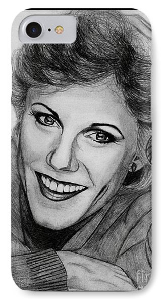 Anne Murray In 1983 Phone Case by J McCombie