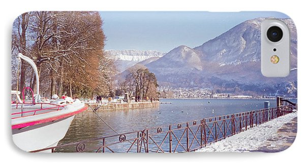 Annecy Fairytale. France Phone Case by Jenny Rainbow
