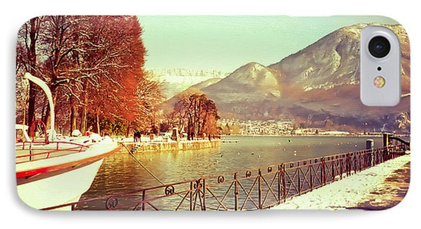 Annecy Golden Fairytale. France Phone Case by Jenny Rainbow