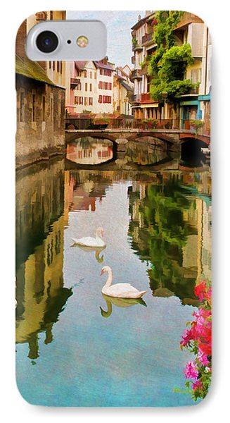 Annecy IPhone Case by Jean-Pierre Ducondi