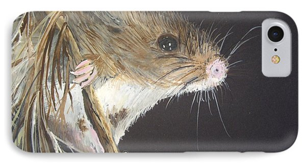 Anne's Mouse IPhone Case by Carole Robins
