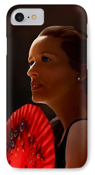 IPhone Case featuring the painting Annette Of The Night by Jann Paxton