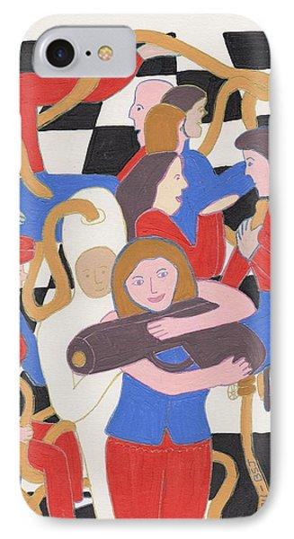 Annie Get Your Gun Phone Case by Barbara St Jean