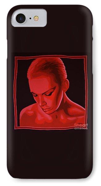 Rhythm And Blues iPhone 7 Case - Annie Lennox by Paul Meijering