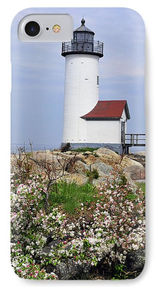 IPhone Case featuring the photograph Annisquam Harbor Light Station 2 by Dan Myers