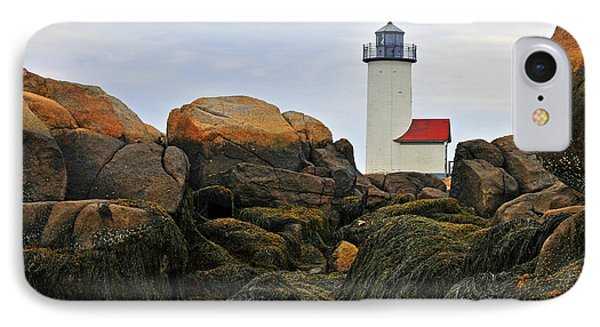 IPhone Case featuring the photograph Annisquam Harbor Light Station by Dan Myers