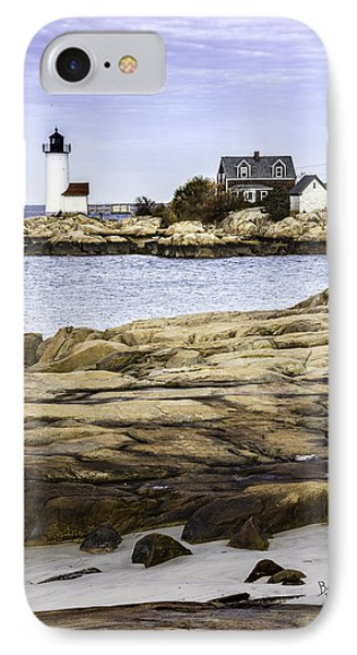 IPhone Case featuring the photograph Annisquam Light by Betty Denise