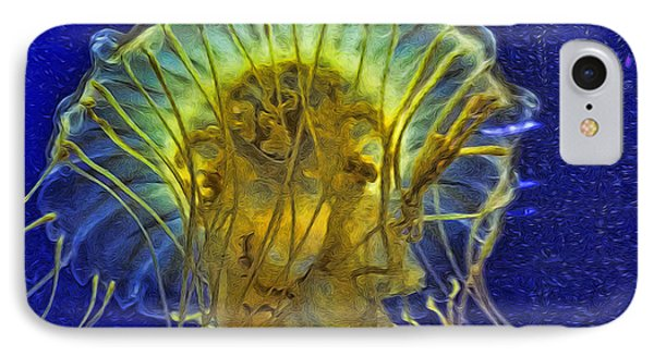 Another Abstract Jellyfish IPhone Case
