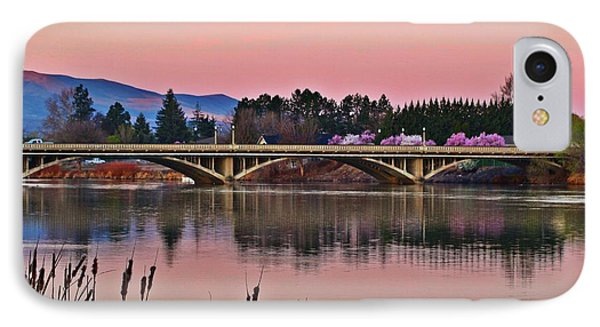 IPhone Case featuring the photograph Another Pink Morning 2 by Lynn Hopwood
