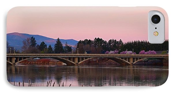 IPhone Case featuring the photograph Another Pink Morning by Lynn Hopwood