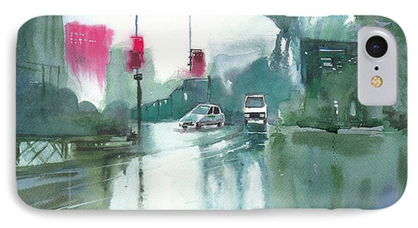 Another Rainy Day Phone Case by Anil Nene