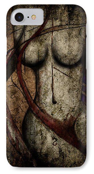 IPhone Case featuring the digital art Another Time by Jeremy Martinson