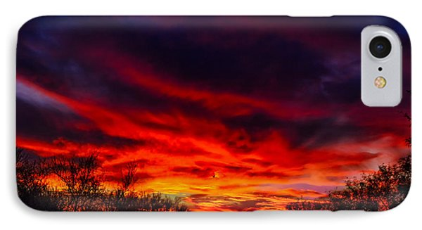 IPhone Case featuring the photograph Another Tucson Sunset by Mark Myhaver